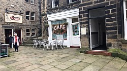Sids Cafe in Last of the Summer Wine in Hulmfirth