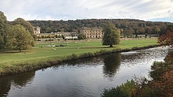 River Derwent And Chatsworth House.
