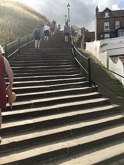 Whitby Famous 199 Steps to Ruins